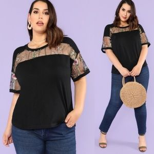 Tops - Gorgeous & Unique Floral Embroidered Blouse